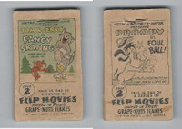 F28-10 Post Cereal, Flip Movies, 1949, #2 Tom & Jerry, Fancy Skating