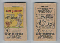 F28-10 Post Cereal, Flip Movies, 1949, #3 Tom & Jerry, Sharp Shooters