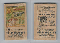 F28-10 Post Cereal, Flip Movies, 1949, #7 Droopy, Growing Pains