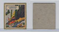 F279-22 Quaker, Kollectors Klub Battle Stamps, 1944, #12 Cherbourg