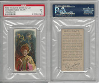 N80 Duke, Holidays, 1890, Chinese New Year, PSA 5 EX