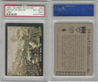 1961 Rosan W528-2, The U.S. Army In Action, #64 Battle Of Shiloh, PSA 6 MC