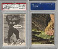 1965 Donruss, King Kong, #31 I Was A Ninety Pound Weakling, PSA 8 NMMT