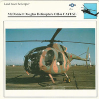 1990 Edito-Service, War Planes Cards, Airplanes, #02.12 McDonnell Helocopter