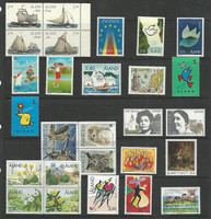 Aland - Finland, Postage Stamp, #109-136 Mint NH, 1995-97 Owl, Ship