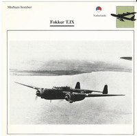 1990 Edito-Service, War Planes Cards, Airplanes, #35.08 Fokker T.IX