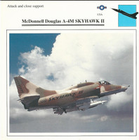 1990 Edito-Service, War Planes Cards, Airplanes, #37.19 McDonnell A-4M Skyhawk