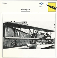 1990 Edito-Service, War Planes Cards, Airplanes, #91.14 Boeing NB