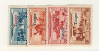 French Morocco, Postage Stamp, #CB11-CB14 Mint Hinged, 1929, JFZ