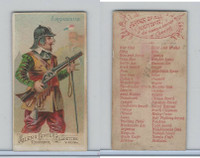 N3 Allen & Ginter, Arms of all Nations, 1887, Arquebus (B)