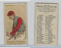 N22 Allen & Ginter, Racing Colors of the World, 1888, Count W. Kawnitz (B)