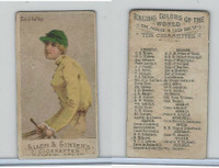 N22 Allen & Ginter, Racing Colors of the World, 1888, Sir J. Astley (B)