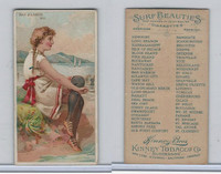 N232 Kinney, Surf Beauties, 1889, Bar Harbor, ME (B)