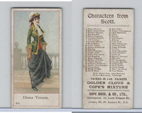 C132-7 Cope, Characters From Scott, 1900, #10 Diana Vernon