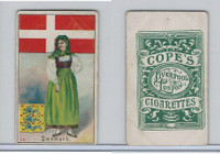 C132-12 Cope, Flags, Arms, Types Nations, 1904, #16 Denmark