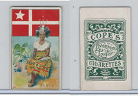 C132-12 Cope, Flags, Arms, Types Nations, 1904, #24 Samoa