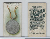T6-6 Taddy Cigarettes, British Medals, 1912, #16 Java