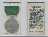 T6-6 Taddy Cigarettes, British Medals, 1912, #30 Best Shot India
