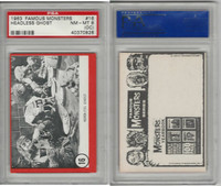 1963 Rosan W528-5, Famous Monsters, #16 Headless Ghost, PSA 8 OC NMMT