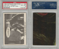 1965 Donruss, King Kong, #2 Just As I Thought- Lights On After, PSA 6 EXMT