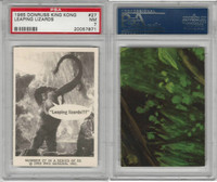 1965 Donruss, King Kong, #27 Leaping Lizards, PSA 7 NM