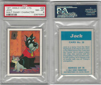 A0-0 Anglo Confectionery, Walt Disney Char., 1971, #28 Jock, PSA 8 NMMT