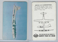 F49, Hood Ice Cream, Airplanes, 1950's, Boeing B-29 Superfortress