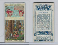 P72-44 Player, Products Of The World, 1908, #10 India Rubber