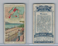 P72-44 Player, Products Of The World, 1908, #15 Macaroni, Italy