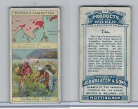 P72-44 Player, Products Of The World, 1908, #18 Tea