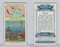 P72-44 Player, Products Of The World, 1908, #19 Pearls
