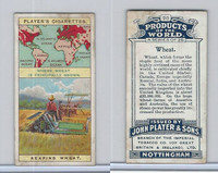P72-44 Player, Products Of The World, 1908, #20 Wheat