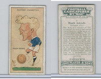 P72-98 Player, Football Caricatures By Mac, 1927, #1 Hugh Adcock