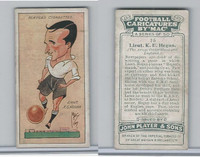 P72-98 Player, Football Caricatures By Mac, 1927, #15 K.E. Hegan