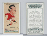 P72-98 Player, Football Caricatures By Mac, 1927, #19 Bob John