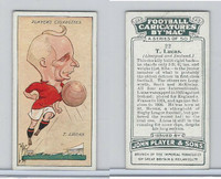 P72-98 Player, Football Caricatures By Mac, 1927, #22 T. Lucas