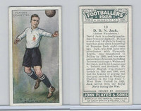 P72-100 Player, Footballers 1928, #19 D.B.N. Jack