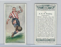 P72-100 Player, Footballers 1928, #21 A.E.M. Keeping