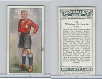 P72-100 Player, Footballers 1928, #22 Windsor H. Lewis