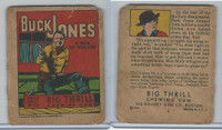 R24 Goudey, Big Thrill Booklets, 1934, Buck Jones, #5 A Den of Wolves