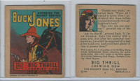 R24 Goudey, Big Thrill Booklets, 1934, Buck Jones, #6 Avenging The Secret