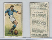 P72-165 Player, Hints On Association Football, 1934, #1 How To Kick