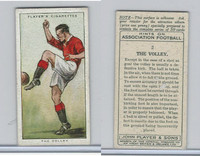P72-165 Player, Hints On Association Football, 1934, #2 The Volley