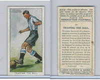 P72-165 Player, Hints On Association Football, 1934, #14 Tapping The Ball
