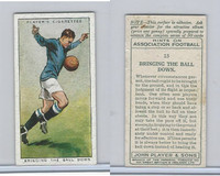 P72-165 Player, Hints On Association Football, 1934, #15 Bringing The Ball