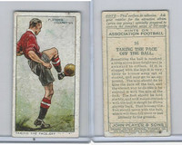 P72-165 Player, Hints On Association Football, 1934, #16 Taking The Pace