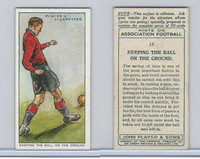 P72-165 Player, Hints On Association Football, 1934, #18 Keeping The Ball