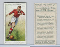 P72-165 Player, Hints On Association Football, 1934, #19 Dribbling