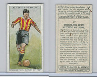 P72-165 Player, Hints On Association Football, 1934, #20 Dribbling