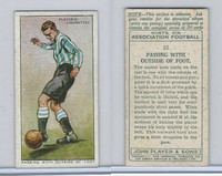 P72-165 Player, Hints On Association Football, 1934, #22 Passing
